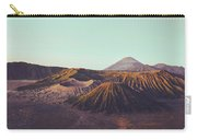 Rugged Mountainous Terrain Mount Bromo At Sunrise Carry-all Pouch