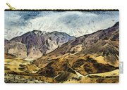 Rugged Mountains Of North India Carry-all Pouch