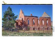 Ruined Church In Rural Utah Carry-all Pouch