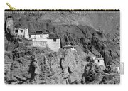 Ruins And Basgo Monastery Surrounded With Stones And Rocks Ladakh Carry-all Pouch