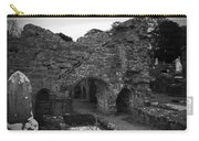 Ruins At Donegal Abbey Donegal Ireland Carry-all Pouch