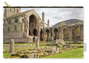 Ruins. Melrose Abbey. Carry-all Pouch