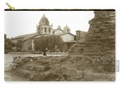 Ruins Of Carmel Mission Circa 1924 Carry-all Pouch