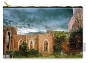 Ruins Under Stormy Clouds Carry-all Pouch