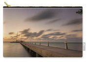 Rum Point Grand Cayman At Dusk Carry-all Pouch