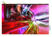 Runaway Color Abstract Carry-all Pouch by Alexander Butler