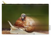 Runaway Snail Carry-all Pouch