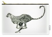 Running Cheetah Carry-all Pouch
