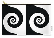 Running Spirals Carry-all Pouch