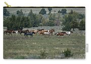 Running Wild Horses  Carry-all Pouch
