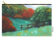 Rural Autumn Landscape Carry-all Pouch