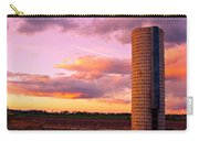 Rural Boulder County Sunset Carry-all Pouch