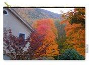 Rural Colorful Autumn Landscape 4 Carry-all Pouch