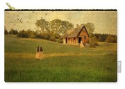 Rural Cottage Carry-all Pouch by Jill Battaglia