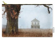 Rural Farmhouse And Large Tree Carry-all Pouch