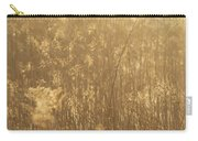 Rural Field At Sunrise Carry-all Pouch