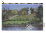 Rural Landscape Painting Of Bauer Farm Carry-all Pouch