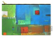 Rural Landscape Rusted Carry-all Pouch