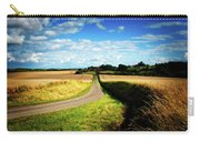 Rural Road In France Carry-all Pouch