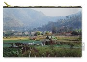 Rural Scene Near Chiang Mai, Thailand Carry-all Pouch
