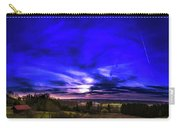 Rural Sunset Panorama Carry-all Pouch
