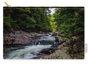 Rushing Falls In The Mountains Carry-all Pouch