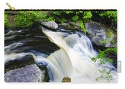 Rushing Water On A Mountain Stream Carry-all Pouch