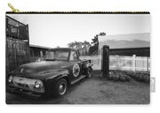 Russel Farms 1951 Ford F100 Black And White Carry-all Pouch