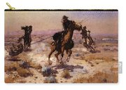 Russell Charles Marion At Rope S End Carry-all Pouch
