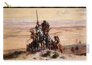 Russell Charles Marion Indians On Plains Carry-all Pouch