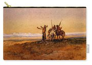 Russell Charles Marion Invocation To The Sun Carry-all Pouch