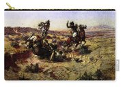 Russell Charles Marion The Broken Rope Carry-all Pouch