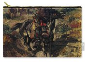 Russell Charles Marion The Scouting Party Carry-all Pouch