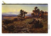 Russell Charles Marion The Stranglers Carry-all Pouch