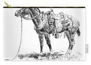 Russell: Rawlins Horse Carry-all Pouch