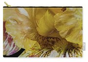 Russet And Umber Iris Carry-all Pouch