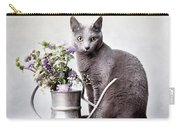 Russian Blue 02 Carry-all Pouch