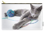 Russian Blue Carry-all Pouch
