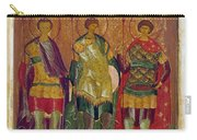 Russian Icon: Saints Carry-all Pouch by Granger