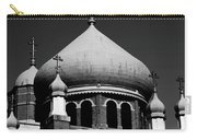 Russian Orthodox Church Bw Carry-all Pouch