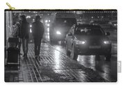 Russian Street Scene At Night 2015 Carry-all Pouch