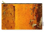 Rust Abstract 2 Carry-all Pouch