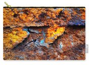 Rust Abstract 9 Carry-all Pouch