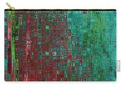 Rust Abstract Carry-all Pouch by Carol Groenen