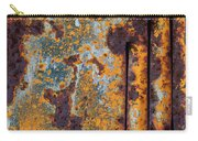 Rust Abstract Car Part Carry-all Pouch