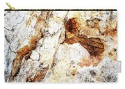 Rust Colored Limestone Rock Carry-all Pouch