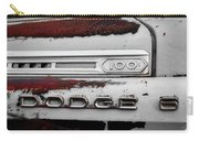 Rust Dodge 6 Selective Color Carry-all Pouch