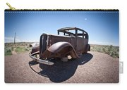 Rusted Old Car On Route 66 Carry-all Pouch