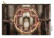 Rusted Prison Gate Carry-all Pouch