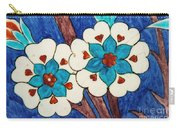 Rustem Pasha Mosque Flower Tile Carry-all Pouch